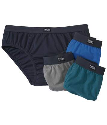 Lot de 4 Slips Confort Atlas For Men(R)