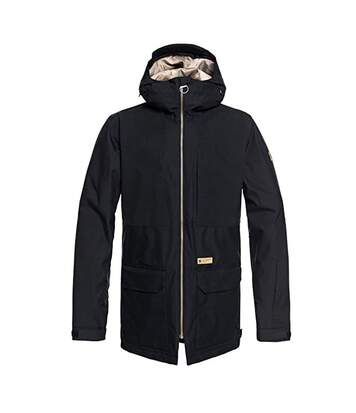 Parka de ski noir homme DC Shoes Summit Jkt M SNJT