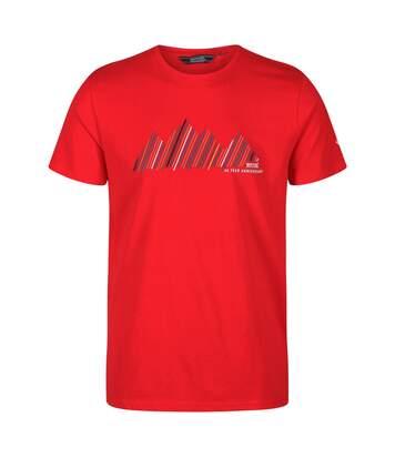 Regatta - T-shirt imprimé BREEZED - Homme (Rouge) - UTRG4945
