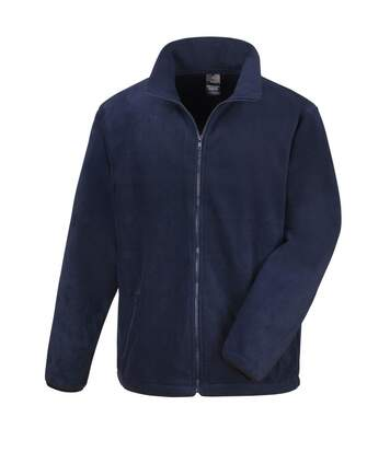 Result Mens Core Fashion Fit Outdoor Fleece Jacket (Navy Blue) - UTBC912