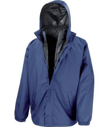 Parka 3 en 1 avec veste matelassée sans manche