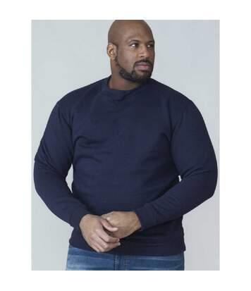 Duke Rockford - Pull col ras-du-cou grande taille - Homme (Gris) - UTDC105