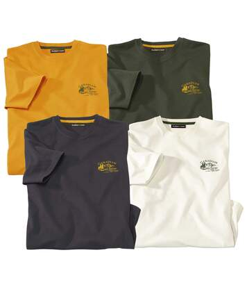 Lot de 4 Tee-Shirts Tadoussak