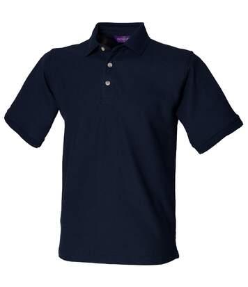 Henbury Mens Ultimate 65/35 Polo Shirt (Navy) - UTRW628