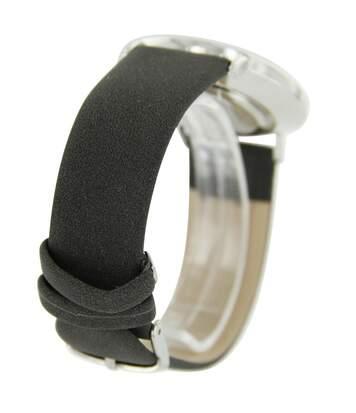 Montre Femme M. JOHN bracelet Cuir Noir