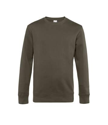 B&C Mens King Sweatshirt (Khaki) - UTRW7909