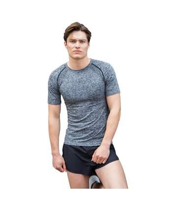 Tombo Mens Seamless T-Shirt (Dark Grey Marl) - UTPC3444