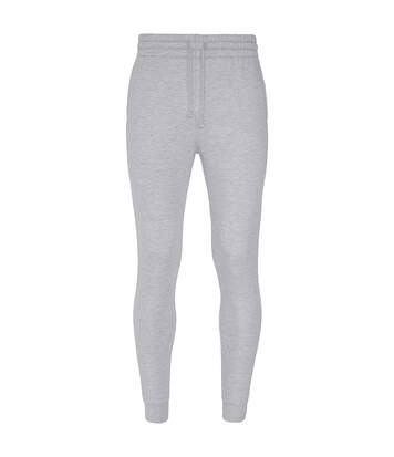 AWDis Hoods Mens Tapered Track Pants (Ash) - UTRW5366