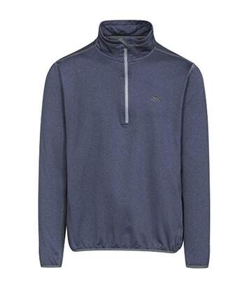 Trespass Mens Tarned Microfleece Top (Navy Marl) - UTTP4274