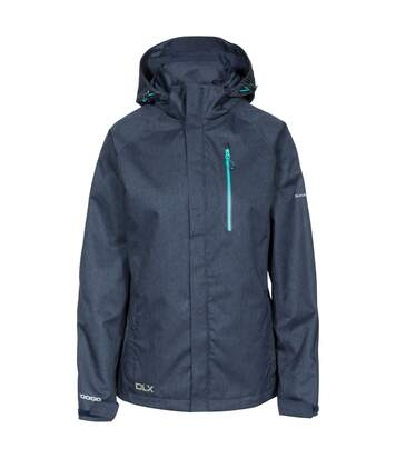 Trespass Womens/Ladies Tiya Waterproof DLX Jacket (Navy Marl) - UTTP4651