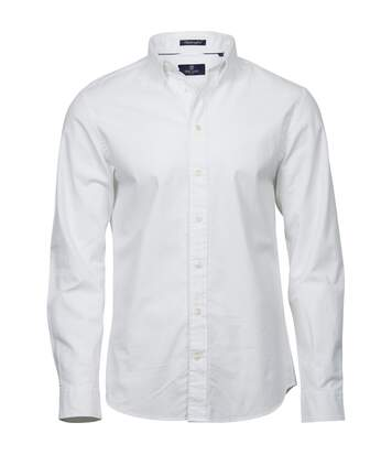 Tee Jays Mens Perfect Long Sleeve Oxford Shirt (White) - UTPC3487