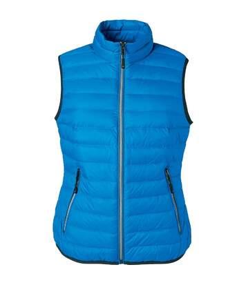 Bodywarmer duvet - JN1137 - bleu cobalt - Femme