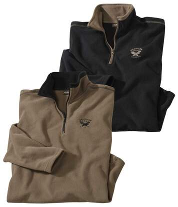 Set van 2 microfleece sweaters West Legend