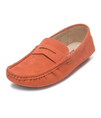 Reservoir Shoes Mocassins aspect suédé à enfiler  Homme
