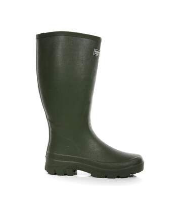Regatta Great Outdoors Mens Mumford II Rubber Wellington Boots (Black) - UTRG3869