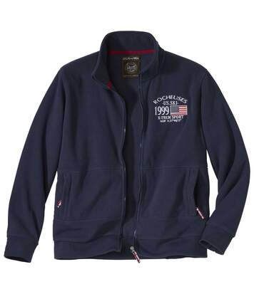 Men's Navy X-TREM Sport Fleece Jacket