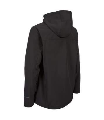 Trespass Mens Hebron Waterproof Softshell Jacket (Black) - UTTP3220