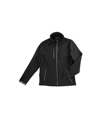Stedman Mens Active Softest Shell Jacket (Black Opal) - UTAB307