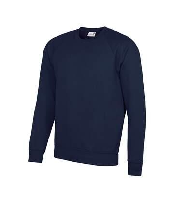 AWDis Academy Mens Crew Neck Raglan Sweatshirt (Emerald) - UTRW3916