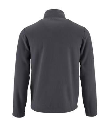 SOLS Mens Norman Fleece Jacket (Charcoal) - UTPC3210