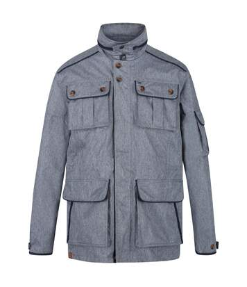 Regatta Mens Elmore Waterproof Cargo Jacket (Dark Denim) - UTRG4895