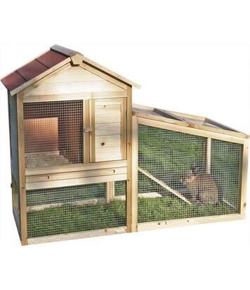 Abri en bois pour lapins Freetime