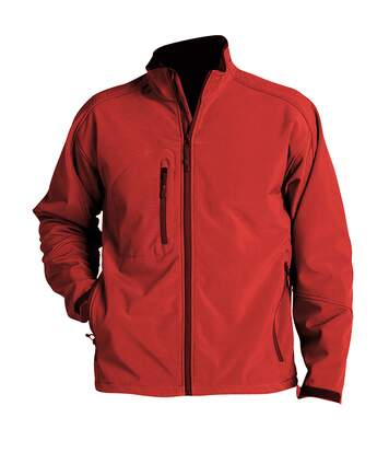 SOLS Mens Relax Soft Shell Jacket (Breathable, Windproof And Water Resistant) (Red) - UTPC347