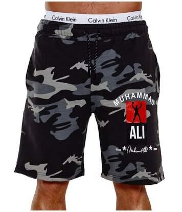 Short camouflage pour homme Short 3726 noir