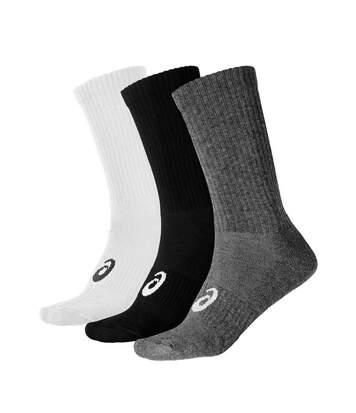 Pack 3 paires de chaussettes homme/femme Asics crew