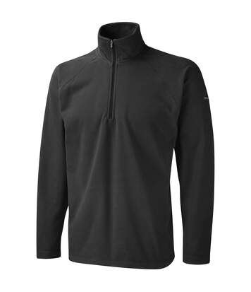 Craghoppers Mens Basecamp Microfleece FZ Half Zip Fleece Top (Red) - UTRW366