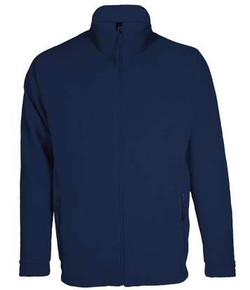 Veste micropolaire zippée homme - 00586 - bleu marine