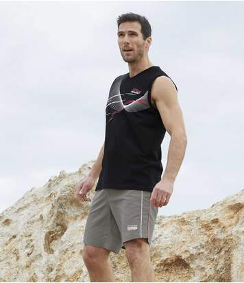 2er-Pack Shorts Active Sport aus Microfaser