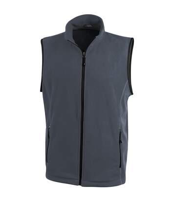 Elevate Mens Tyndall Micro Fleece Bodywarmer (Storm Grey) - UTPF1936
