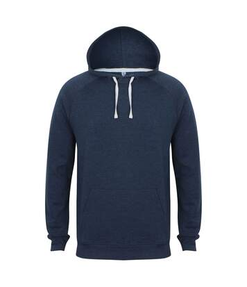 Front Row French Terry - Sweat À Capuche Slim - Homme (Bleu marine marne) - UTRW5394