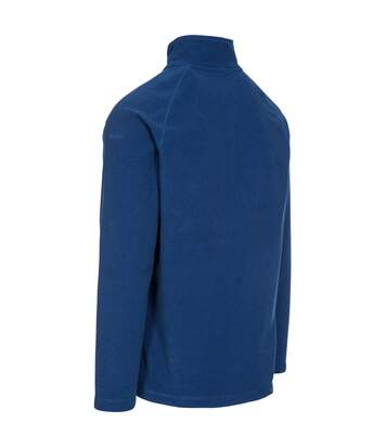 Trespass Mens Keynote Anti Pilling 1/4 Zip Fleece Top (Dark Navy) - UTTP4242