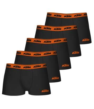 Lot de 5 boxers homme en coton KTM3 Noir
