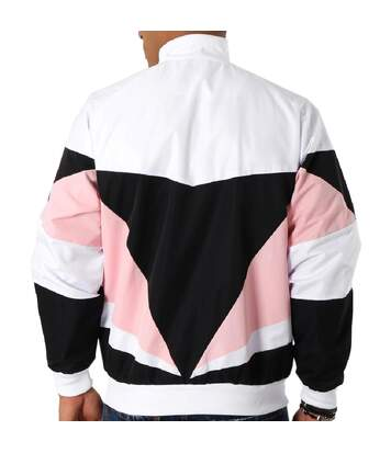 Veste Blanche/Noir/Rose Homme Umbro Heritage
