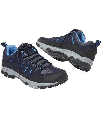 Men's Navy Outdoor Shoes