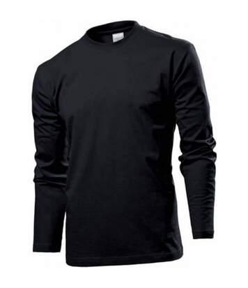 Stedman Mens Classic Long Sleeved Tee (Navy) - UTAB277
