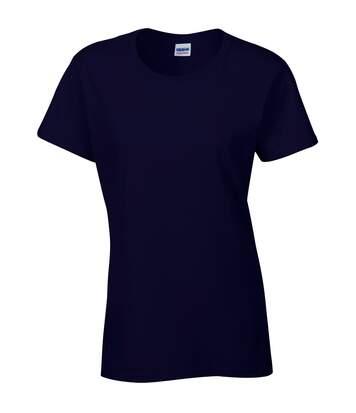 Gildan - T-Shirt À Manches Courtes Coupe Féminine - Femme (Bleu marine) - UTBC2665