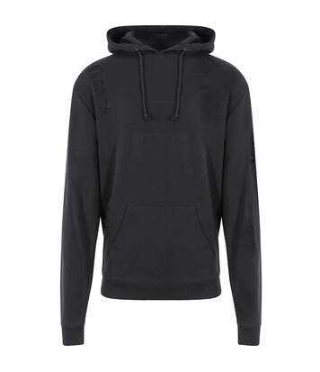 AWDis Just Hoods Mens Distressed Hoodie (Jet Black) - UTPC3446
