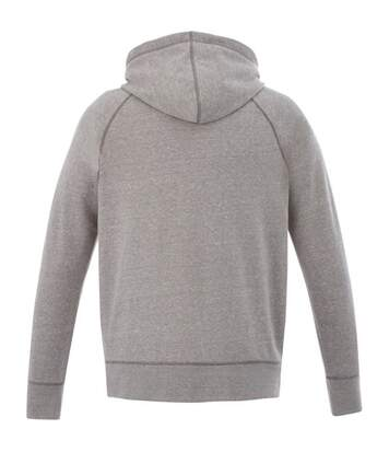 Slazenger Mens Groundie Full Zip Hoodie (Grey Melange) - UTPF1768