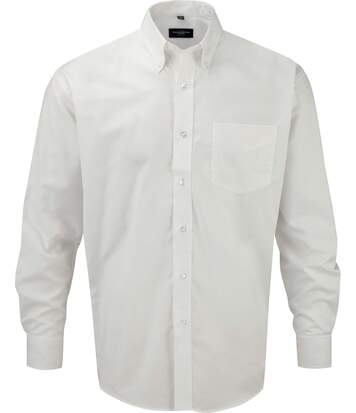 Chemise manches longues oxford