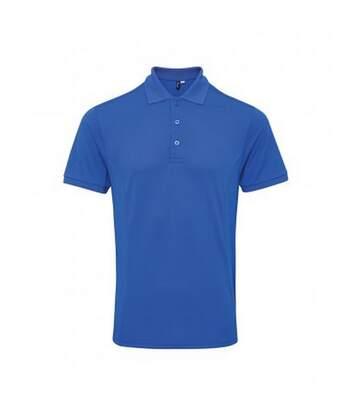 Premier Mens Coolchecker Plus Piqu Polo Shirt (Royal) - UTPC3374