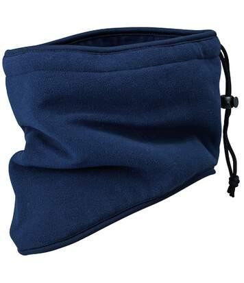 Tour de cou écharpe cache-nez polaire - MB7930 - bleu marine