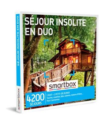 SMARTBOX - Séjour insolite en duo - Coffret Cadeau Séjour