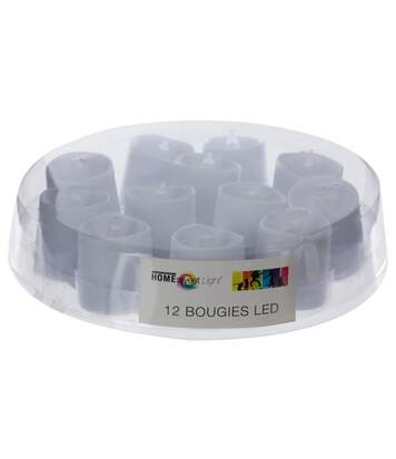 Atmosphera - Lot de 12 bougies LED votives D4