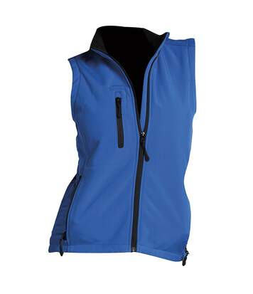 SOLS Womens/Ladies Rallye Soft Shell Bodywarmer Jacket (Royal Blue) - UTPC350