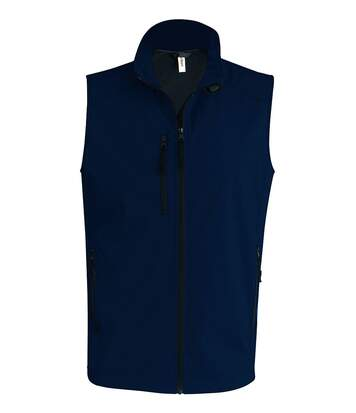 Bodywarmer softshell - gilet sans manches - K403 - bleu marine - Homme