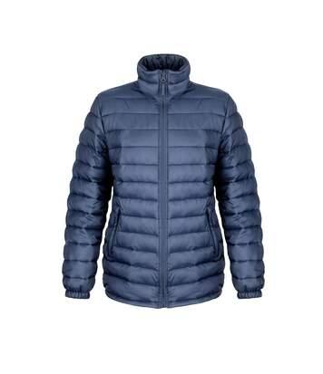 Result Ladies/Womens Ice Bird Padded Jacket (Water Repellent & Windproof) (Navy Blue) - UTBC2047